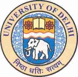 delhi university logo image